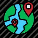 globe, location, wide, world, worldwide