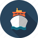 boat, delivery, ship, transportation, travel, vacation icon