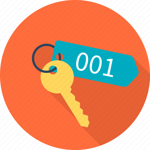 bedroom, key, protection, safe, travel, vacation icon