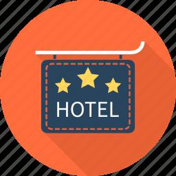 hotel, resort, travel, vacation icon