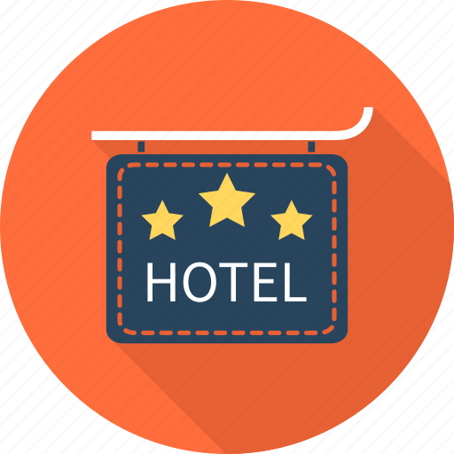 hotel, resort, travel, vacation icon