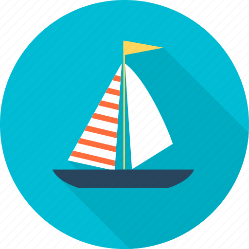 ., move, sea, ship, transport, travel, wave icon