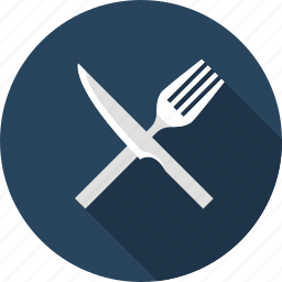 culinary, cutlery, eating, restaurant, travel icon