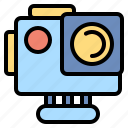 action, camera, photography, technology icon