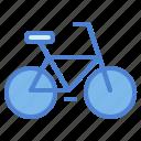 bicycle, bike, cycling, exercise icon