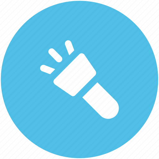 emergency light, flashlight, light, pocket torch, torch icon