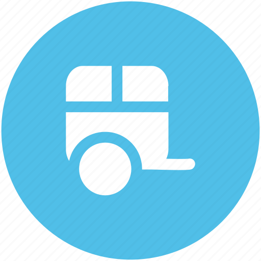 living van, living vehicle, travel, van, van dwelling, vanity van icon