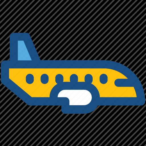 aeroplane, air travel, aircraft, airplane, plane icon