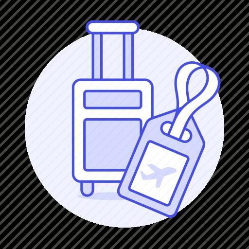 Bag, baggage, briefcase, drag, flight, journey, luggage icon - Download on Iconfinder