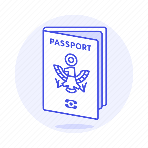 Abroad, international, journey, open, overseas, passport, travel icon - Download on Iconfinder