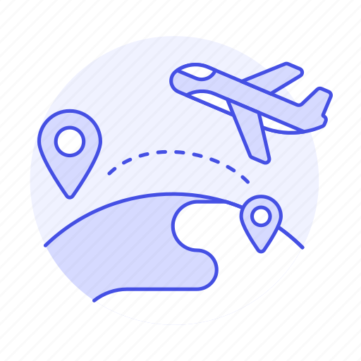 Abroad, flight, globe, international, journey, location, overseas icon - Download on Iconfinder