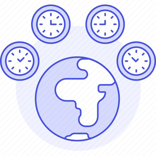 Clock, difference, globe, offset, planet, standard, time icon - Download on Iconfinder