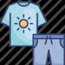 clothes, clothing, fashion, shirt, shorts, tshirt