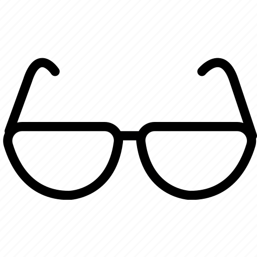 glasses, transport, travel icon