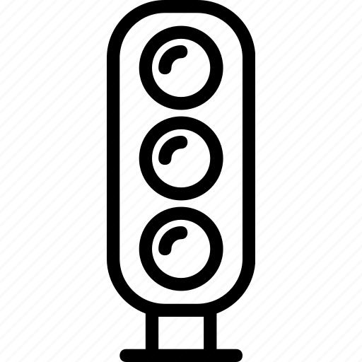 lights, semaphore, stop, transport, travel icon