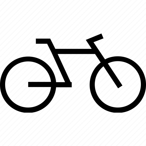 bycicle, transport, travel, two, vehicle, wheels icon