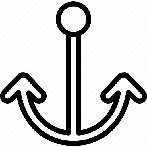 anchor, ship, transport, travel icon