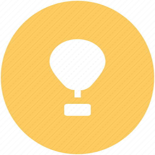 air balloon, balloon, flying, hot air balloon, parachute balloon, skydiving, travel icon