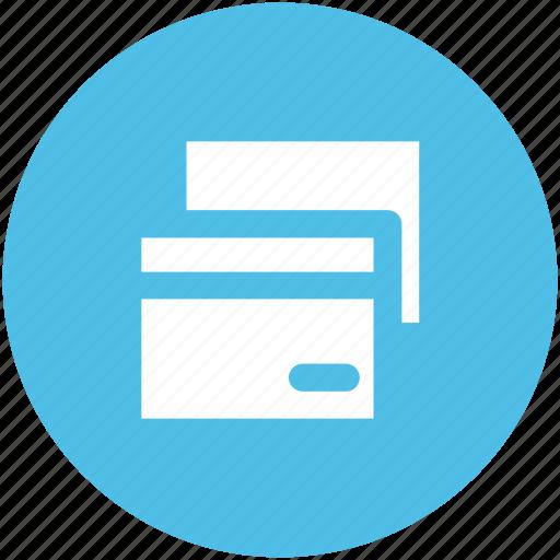 atm card, credit card, debit card, plastic money, smart card, visa card icon