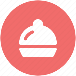 chef platter, food platter, food serving, hotel service, platter, restaurant, serving platter icon