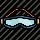 diving, goggles, mask, sports, scuba, snorkel, adventure