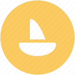 boat, cruise, sailing boat, ship, vessel, water transport, yacht icon