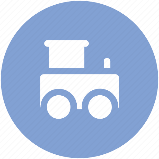 locomotive, subway, train, train engine, tram, tramway, transport, vehicle icon