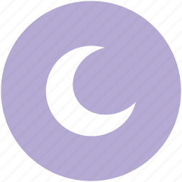 crescent, lunar, moon, nature, night time, waning moon, weather icon