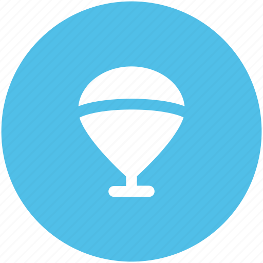 air balloon, balloon, flying, hot air balloon, parachute balloon, skydiving, travel icon