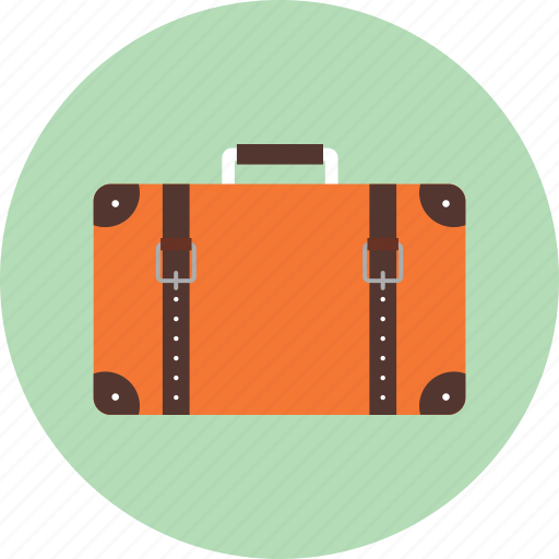 briefcase, business, luggage, shopping, suitcase, traveling bag icon
