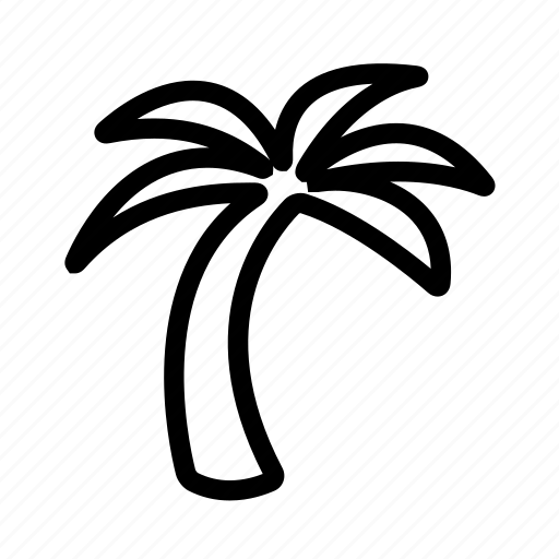 nature, palm, travel, tree icon