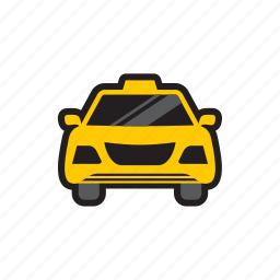 new york, taxi, transportation, travel icon
