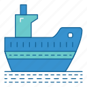 harbour, holiday, ship, transportation, travel, vacation, vechile icon
