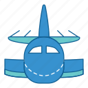airplane, airport, holiday, plane, transportation, travel, vacation icon