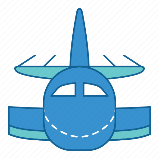 Airport, holiday, plane, transportation, travel, vacation, airplane icon - Download on Iconfinder