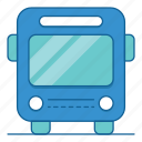 bus, holiday, transport, transportation, travel, vacation icon