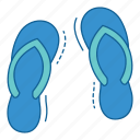 beach, holiday, sandals, summer, travel, vacation icon