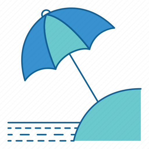 beach, holiday, summer, tourism, travel, umbrella, vacation icon
