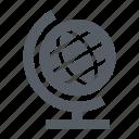 destination, earth, equator, globe, travel, world icon