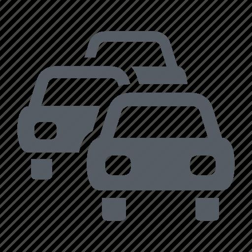 highway, jam, road, traffic, transportation icon