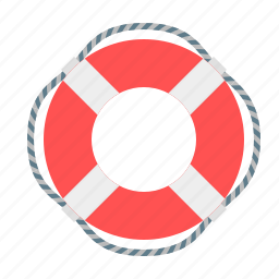 boat, help, lifebuoy, lifesaver, rescuer, sea, ship icon
