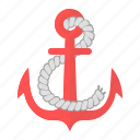 anchor, boat, holiday, sea, ship, vessel, yacht icon