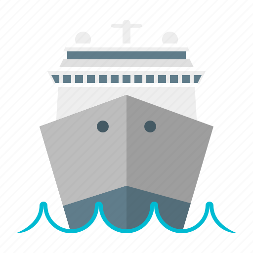 boat, delivery, sea, ship, transport, travel, vacation icon