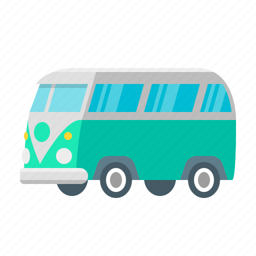camper, car, road, tourism, transport, travel, vacation icon