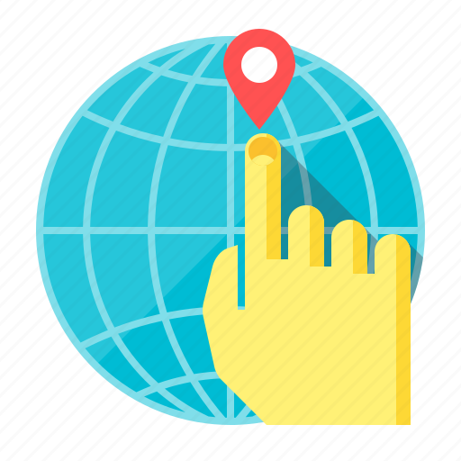 check, earth, global, globe, mark, selection, travel icon