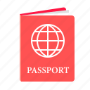 travel, international passport, passport, flight