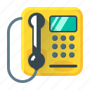 call, communication, device, payphone, phone, telephone icon