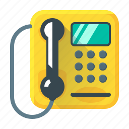 call, communication, device, payphone, phone, telephone icon
