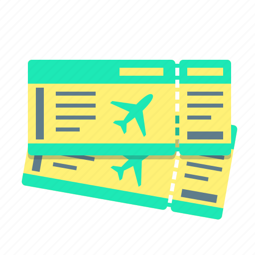 air, flight, plane, recreation, tickets, travel, vacation icon