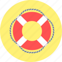 help, lifebuoy, rescuer, boat, sea, support